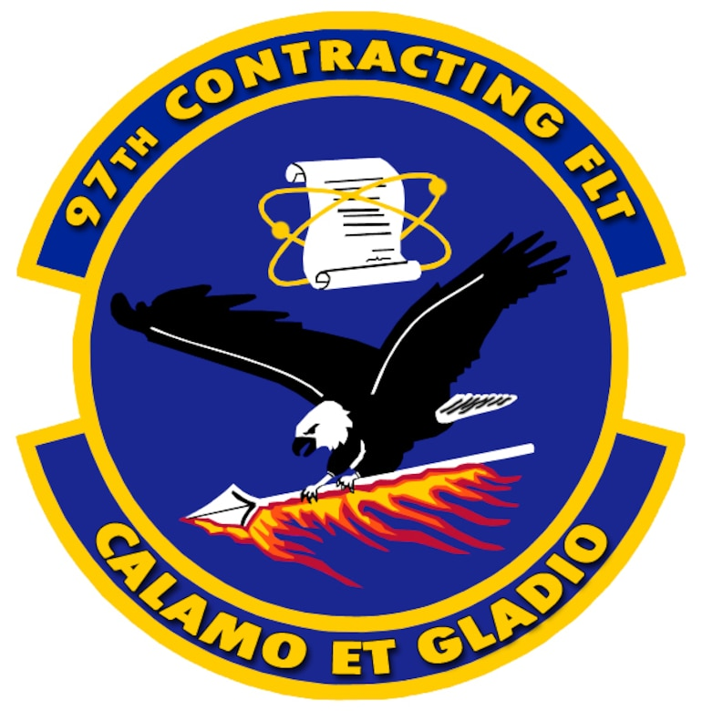 97th Contracting Flight Patch