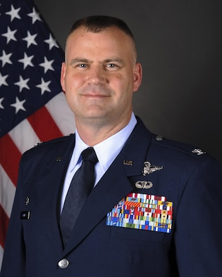 Official Photo of Colonel Daniel A. DeVoe, Commander, 314th Airlift Wing, Little Rock Air Force Base