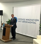 Defense Secretary Ash Carter opens the Defense Department's second Defense Innovation Unit Experiment office in Boston, July 26, 2016. The Boston office joins the DIUx technology outpost Carter opened in 2015 in Silicon Valley, Calif. DoD photo