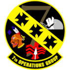 7th Operations Group (Team Patch)
