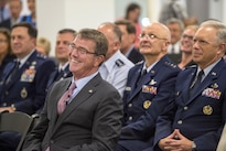 Defense Secretary Ash Carter listens to remarks during a meeting at the new Defense Innovation Unit Experimental, or DIUx, office, in Boston, July 26, 2016. DoD photo by Air Force Tech. Sgt. Brigitte N. Brantley