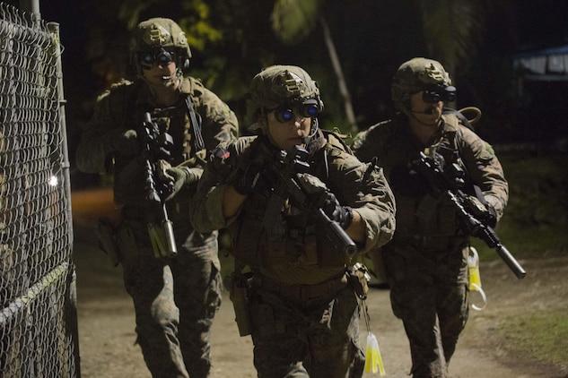 Maritime Raid Force Rushes In Palau Police Provides