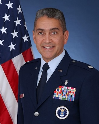 Lt Col Ruben Matos, Deputy Director of Air Force Medical Service (AFMS) International Health Specialist (IHS) program
