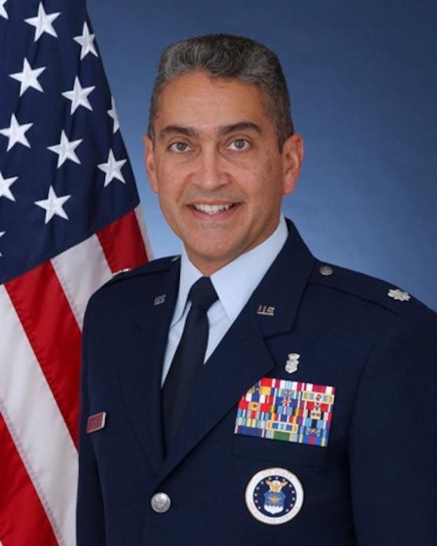 Lt Col Ruben Matos, Deputy Director of Air Force Medical Service (AFMS) International Health Specialist (IHS) program
