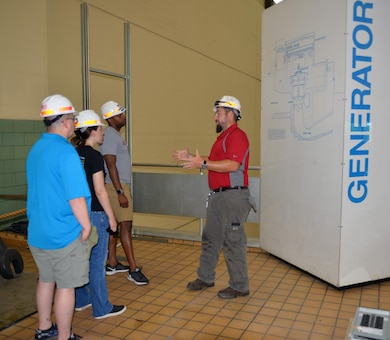 NASHVILLE, Tenn. (July 21, 2016) – The U.S. Army Corps of Engineers Nashville District is committed to supporting science, technology, engineering and mathematics programs in partnership with local educators.  Three Stratford STEM Magnet High School teachers recently participated in an externship at the Nashville District Headquarters and at Old Hickory Dam that will help them develop project-based curriculum and facilitate applied learning.