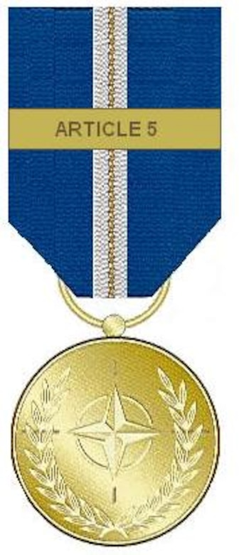 The Article 5 NATO Medal (Operation Eagle Assist)