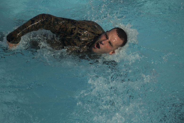 Marines with III Marine Expeditionary Force participated in a culminating event as part of a Marine Corps Martial Arts Program Instructor course July 28, 2016 at Camp Hansen in Okinawa, Japan. The Marines went through a three-week course which challenged them mentally and physically, pushing them past their limits. (U.S. Marine Corps photo by Cpl. Samantha Villarreal/Released)