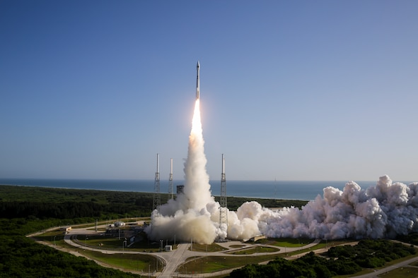 The U.S. Air Force's 45th Space Wing supported United Launch Alliance's successful launch of the NROL-61 spacecraft aboard an Atlas V rocket from Space Launch Complex 41 at Cape Canaveral Air Force Station, Fla., July 28, 2016, at 8:37 a.m. ET. Before any spacecraft can launch from Cape Canaveral Air Force Station, a combined team of military, government civilians and contractors from across the 45th Space Wing provide the mission assurance to ensure a safe and successful lift-off for range customers. (Photo/United Launch Alliance)