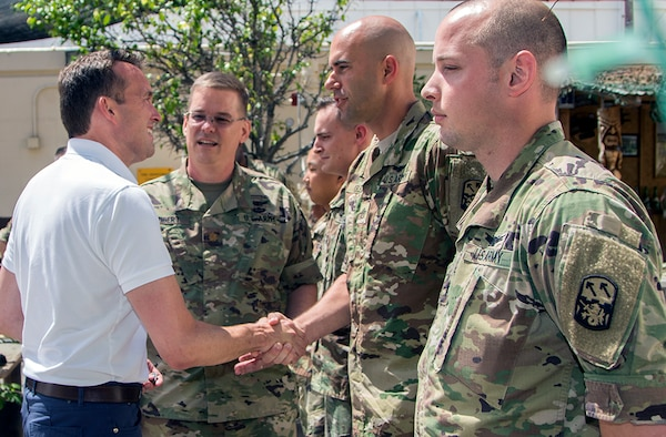 Secretary of the Army Visits Joint Base Pearl Harbor-Hickam