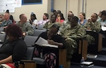 Close to 40 military service members and civilians attended the three-day Defense Logistics Agency Aviation Academy in the McKeever Auditorium on Defense Supply Center Richmond, Virginia, July 19-21, 2016.