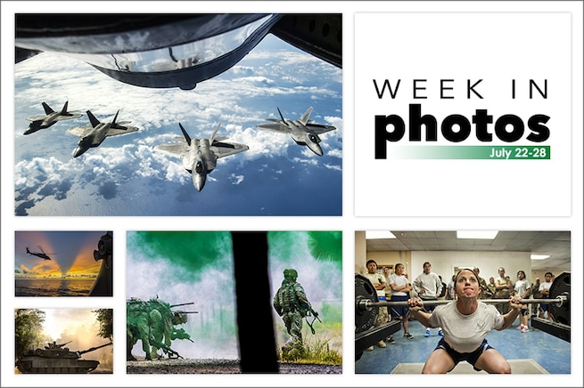 Week in Photos is a collection of the best images published on defense.gov during a seven-day period.
