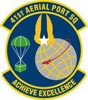 41st Aerial Port Squadron Shield