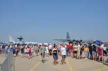 Maxwell Reservists, aircraft participate in Bucharest air show