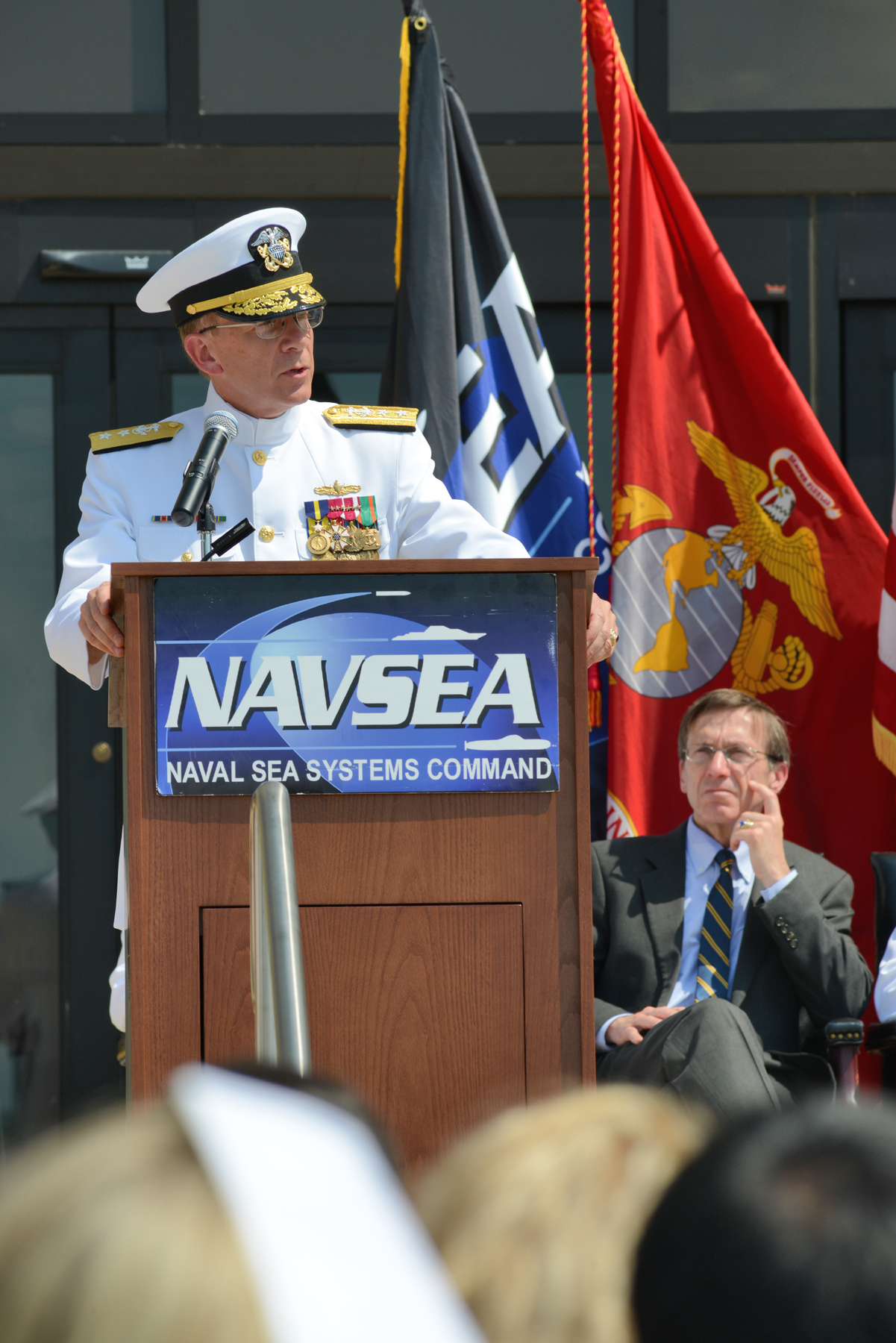 Antonio Takes Helm Of Peo Aircraft Carriers Gt Naval Sea