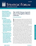 The NATO Warsaw Summit: How to Strengthen Alliance Cohesion