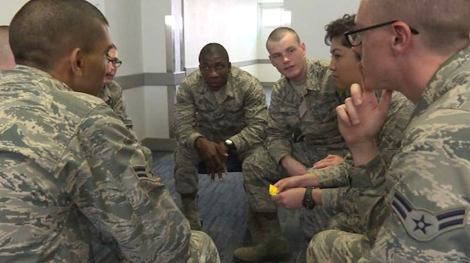 Air Force Global Strike Command Airmen will soon meet once a month throughout the command to build unit cohesion. The program, called Core Groups, is designed to foster a sense of camaraderie while emphasizing what it means to be an Airman. (Courtesy Photo)