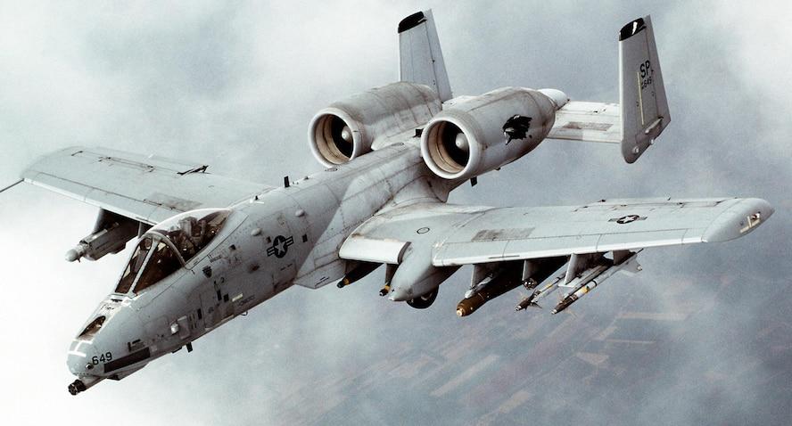 The A-10A/C Thunderbolt II aircraft. (Courtesy photo)
