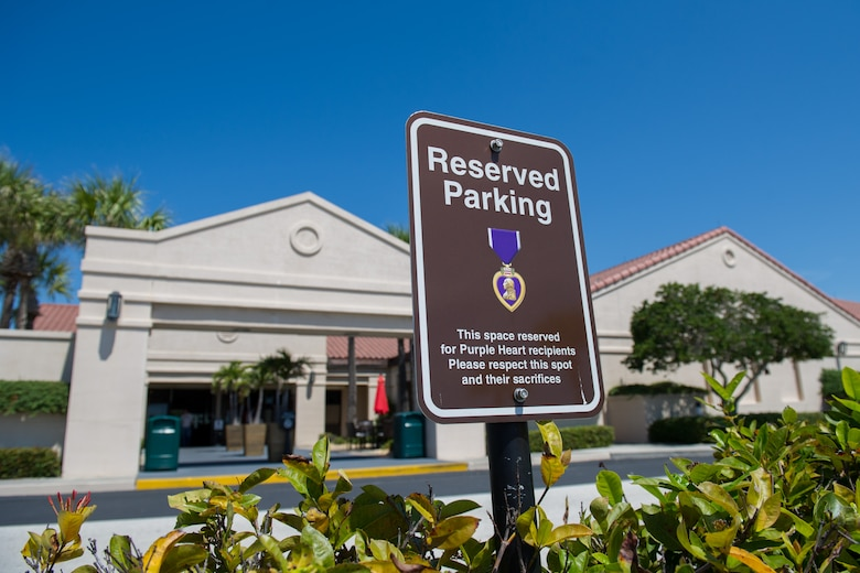 Changes to reserved parking across the installation have materialized over the past three months. In that time, the 45th Civil Engineer Squadron has removed, installed or modified more than 750 reserved parking signs at Patrick Air Force Base and Cape Canaveral Air Force Station, Fla. The changes reflect Brig. Gen. Wayne Monteith, 45th Space Wing commander's vision of what reserved parking should look like on the base. (U.S. Air Force photo/Benjamin Thacker/Released)