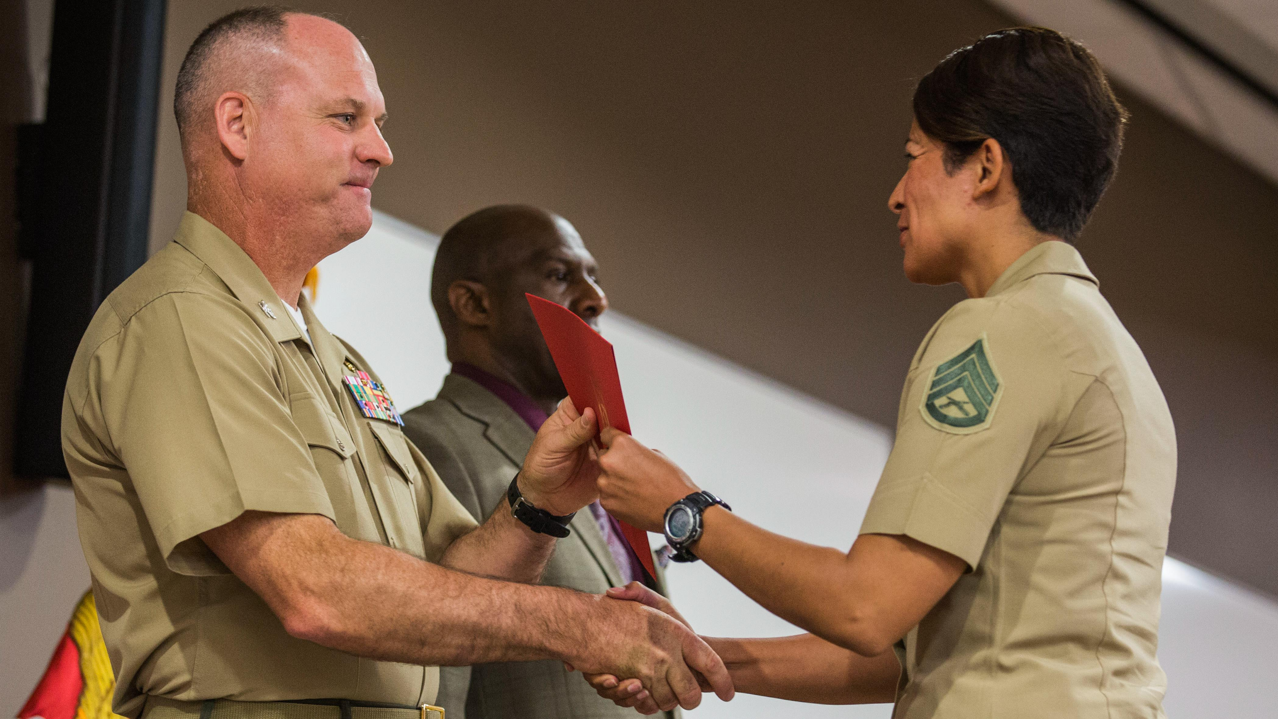 Staff NCOs have new Career Course option > The Official United States Marine Corps Public ...