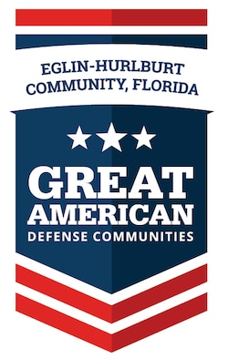 "The Eglin-Hurlburt community was one of 10 areas designated a ""Great American Defense Communities"" by the National Association of Defense Communities recently. The Great American Defense Community program is designed to recognize communities who go above and beyond to improve the quality of life of the military families who call their community ""home."" (Courtesy photo)"