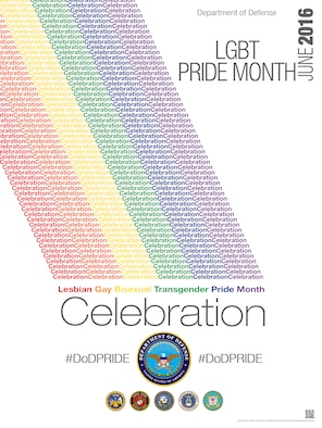 MacDill Air Force Base, Florida will celebrate June's Lesbian, Gay, Bisexual, and Transgender Pride Month with a luncheon and color run. Individuals with base access are welcome to attend both events. The luncheon will be held on June 14 at the base chapel and the color run will be at seascapes on June 29. (Courtesy graphic)