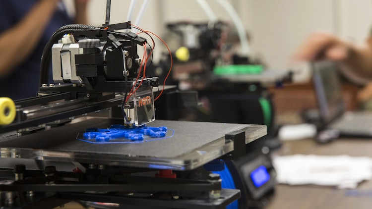 Printing Out The Future Marines Learn Benefits Of 3d