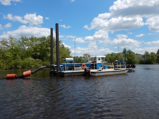 Dredging Milford Pond was key to restoration efforts.