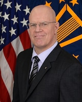 Official photo of Lawrence J. Wark, Vice Director, Manpower And Personnel, J-1.