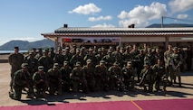 U.S. Marines and the Timor-Leste Defense Force, attend the opening ceremony for Exercise Crocodilo 16-1, Hera Naval Base, Timor-Leste, June 6, 2016. This exercise is part of Task Force Koa Moana's deployment throughout the Asia-Pacific region which will serve to further strengthen alliances, and highlight the effectiveness of a maritime prepositioning force.