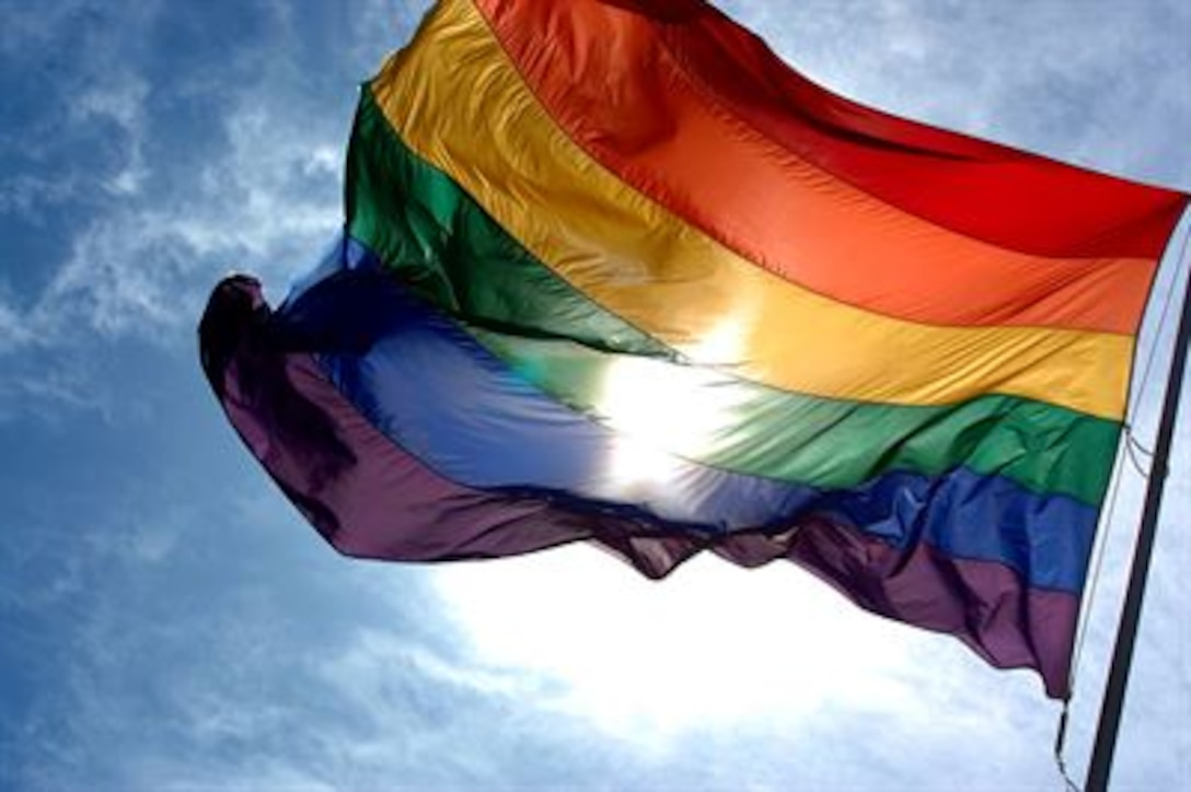 """President Barack Obama signed a proclamation, May 31, 2016, designating June as Lesbian, Gay, Bisexual and Transgender Pride Month. On Sept. 20, 2011, the """"don't ask, don't tell"""" repeal went into full implementation, allowing lesbian, gay and bisexual service members to serve openly in the U.S armed forces. (Courtesy photo)"""