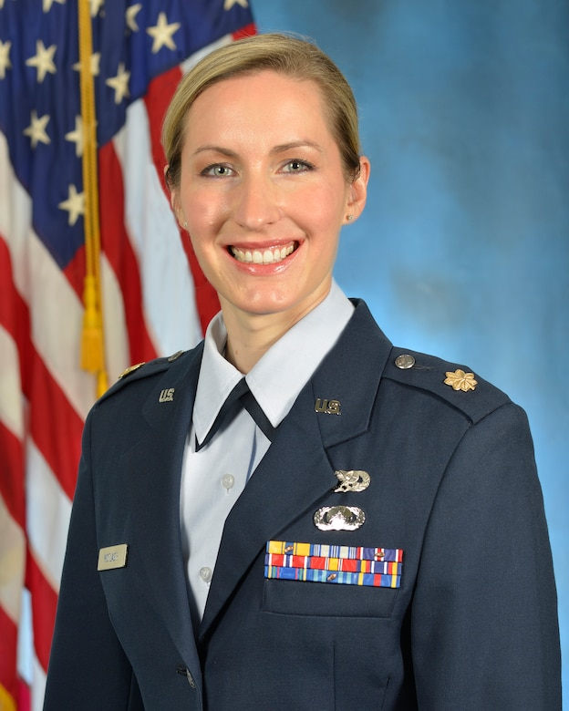 Maj. Angela K. Motlagh is one step closer to being selected to the NASA astronaut program following the Air Force's Astronaut Nomination Board results earlier this spring. Finalists will be identified in June 2017, and will report to NASA in August 2017. (U.S. Air Force photo by Linda LaBonte Britt)