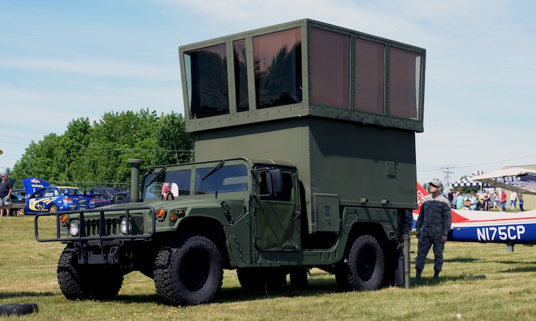 260 ATCS displays mobile tower capabilities to community