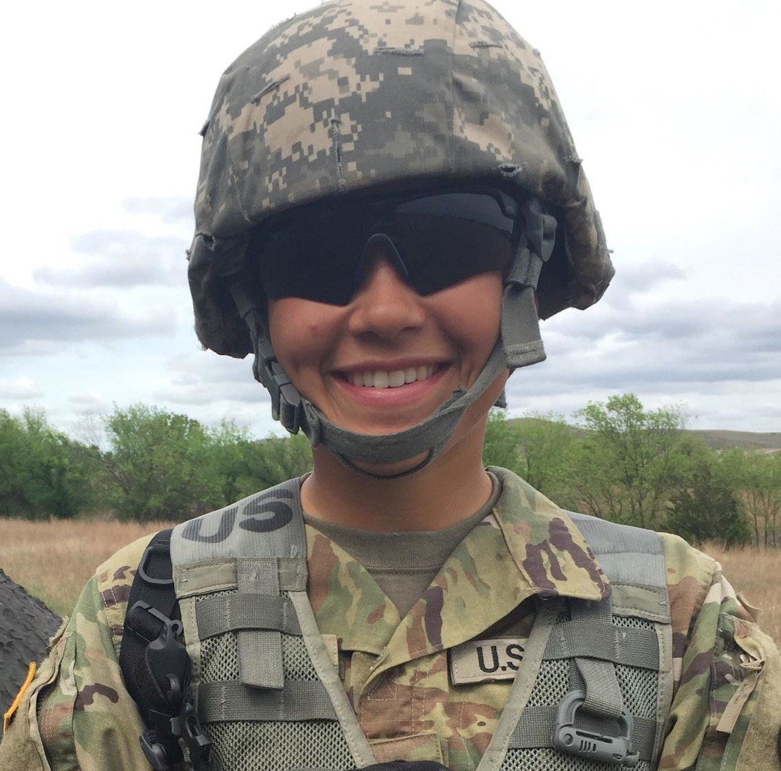 New York Army National Guard Spc. Ashley Diaz will be the first female 13B, cannon crew member, in the New York Army National Guard's 1st Battalion 258th Field Artillery.