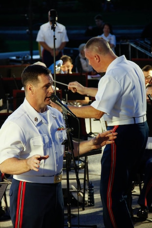 On June 8, 2016, the Marine Band performed a concert at the U.S. Capitol featuring works by Sousa, Copland, and more. (U.S. Marine Corps photo by Staff Sgt. Rachel Ghadiali/released)