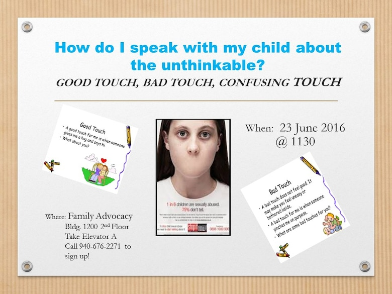 How do I speak with my child about the unthinkable?