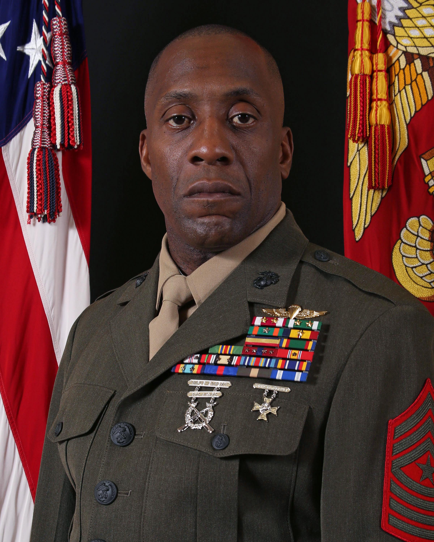 Sergeant Major Johnnie M. Hughes > Marine Corps Base Camp