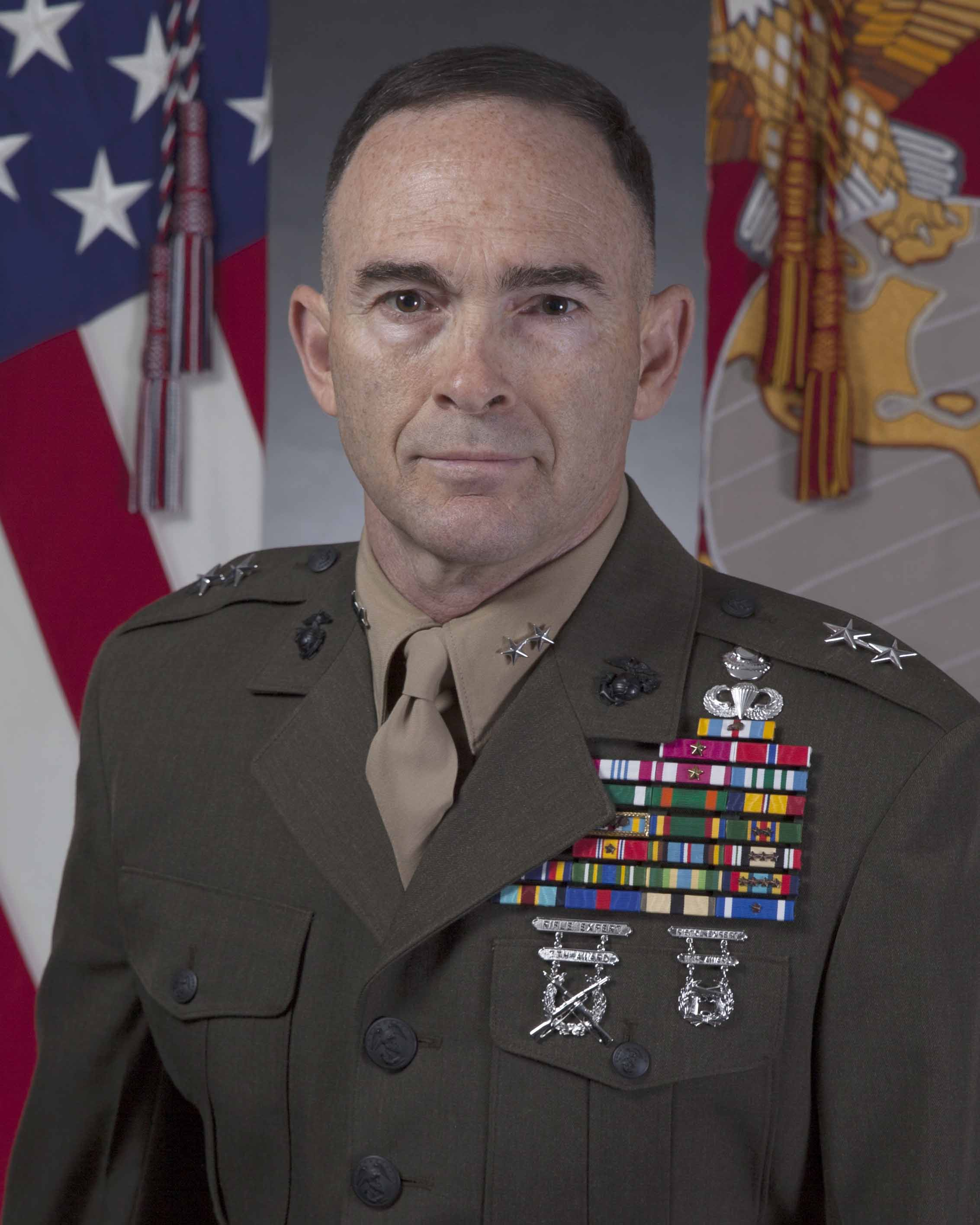 Major General John K. Love > 2nd Marine Division > Biography