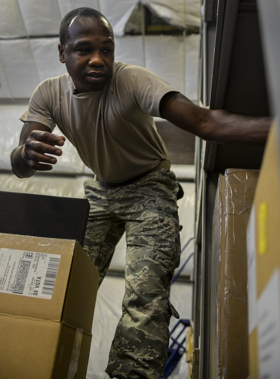 Staff Sgt. Wendell Belford, 99th Logistics Readiness