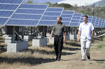 CAMP PENDLETON, Calif. – Brig. Gen. Edward D. Banta, Commanding General, Marine Corps Installations – West, set targets for the implementation of Camp Pendleton's renewable energy projects in a new policy letter released June 10.