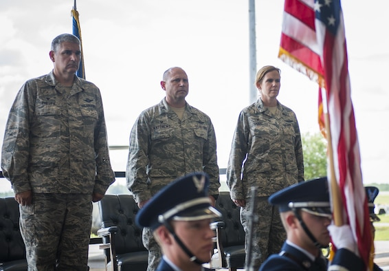 Operations Group welcomes first female commander > Dobbins ...