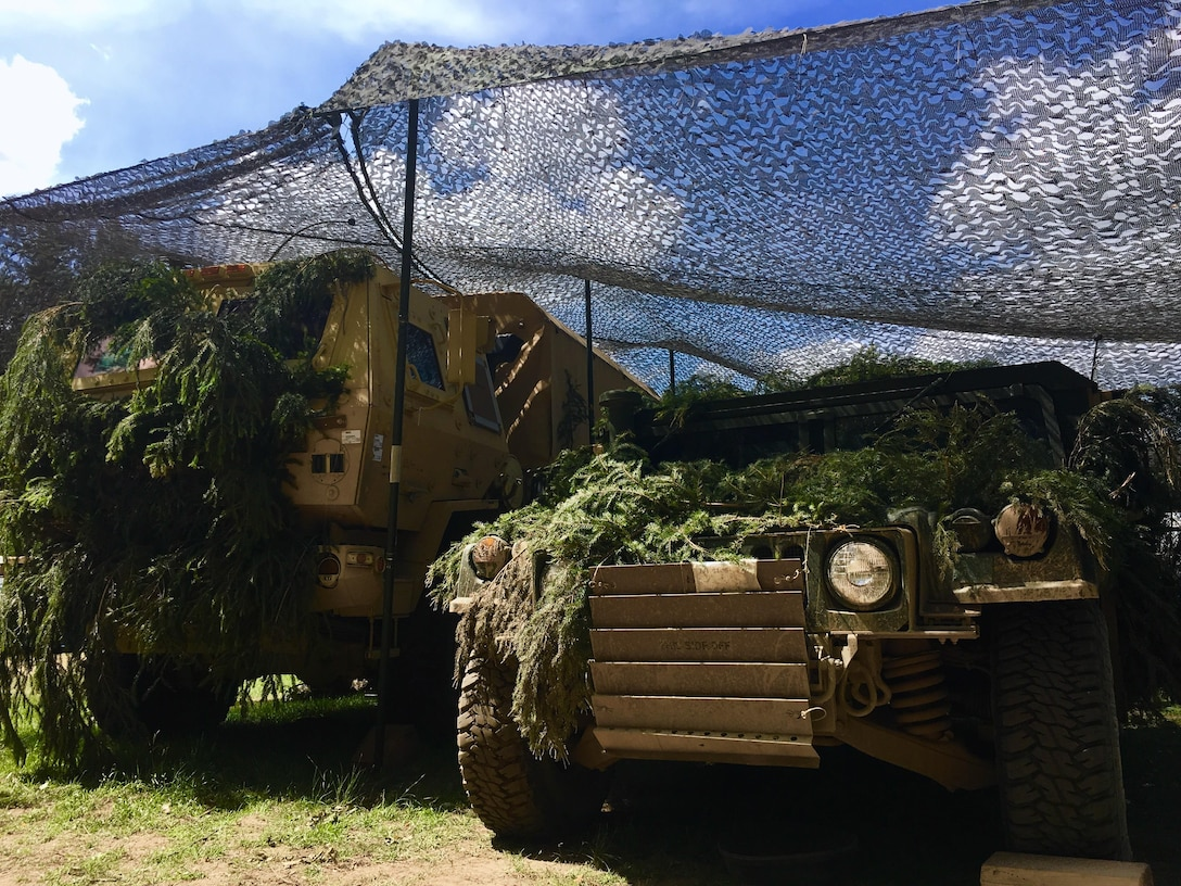 The two vehicles housing the battalion aid station of the 2nd Infantry Battalion, 7th Infantry Regiment, 1st Armored Brigade Combat Team, 3d Infantry Division. The 2-7 Infantry Battalion is in Poland for Exercise Anakonda 2016, a Polish-led, multinational exercise that includes over 31,000 troops from 24 participating nations. (U.S. Army photo by 1st Lt. Ernest Wang/Released)