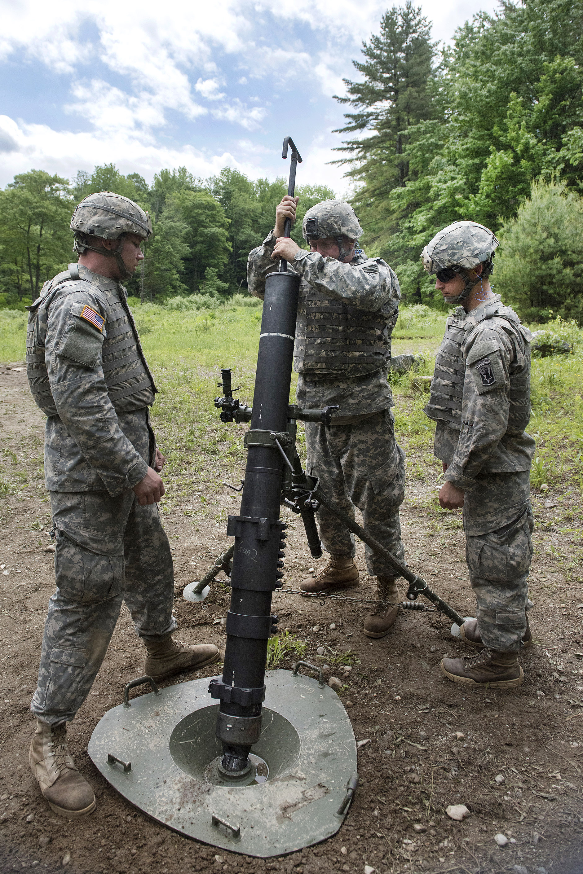 Military Mortar Sizes : U s department of defense gt photos photo gallery