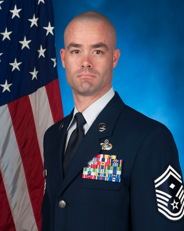 SMSgt David R. Kalal, First Sergeant, 673d Security Forces Squadron.