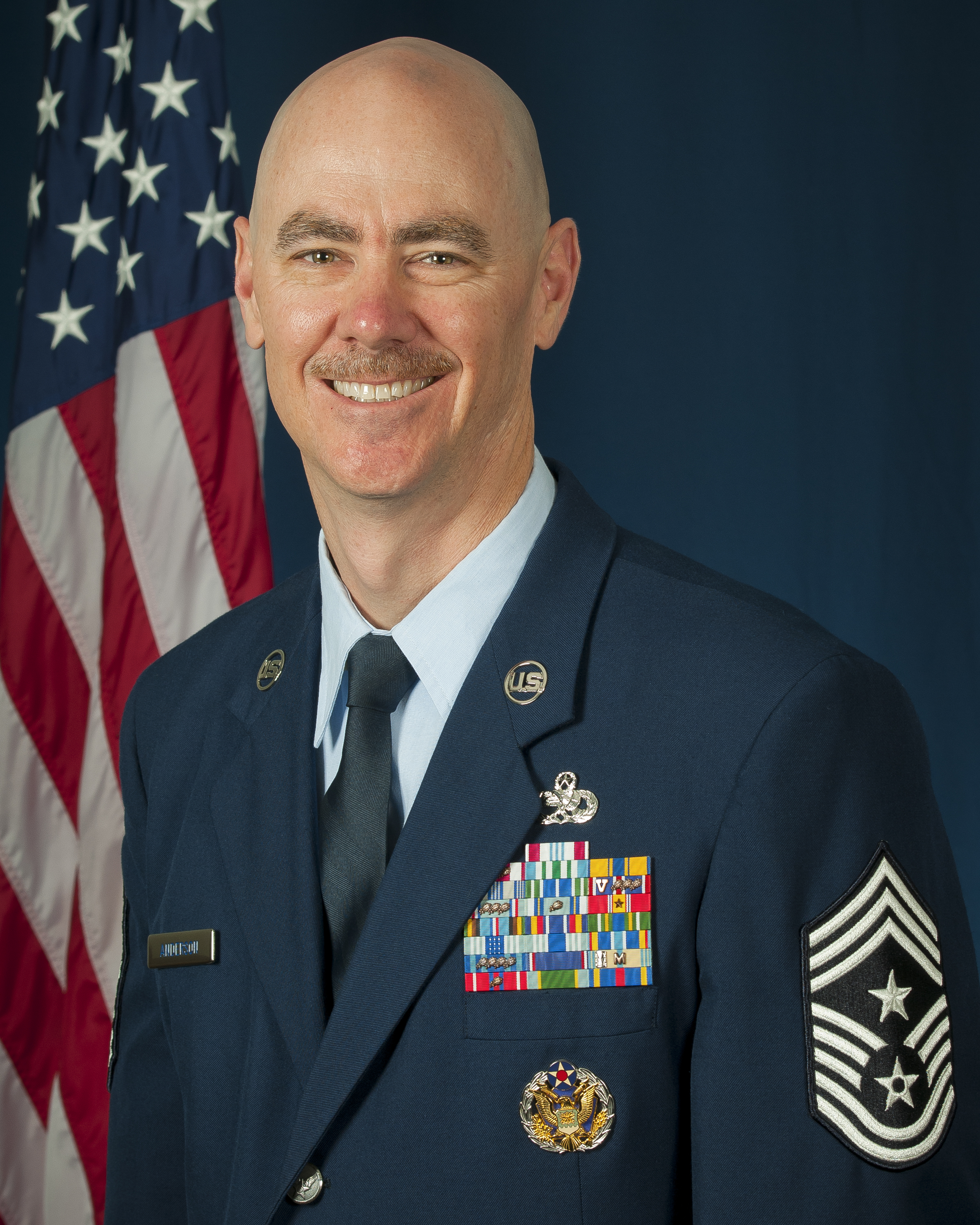 Chief Master Sgt. Ronald C. Anderson