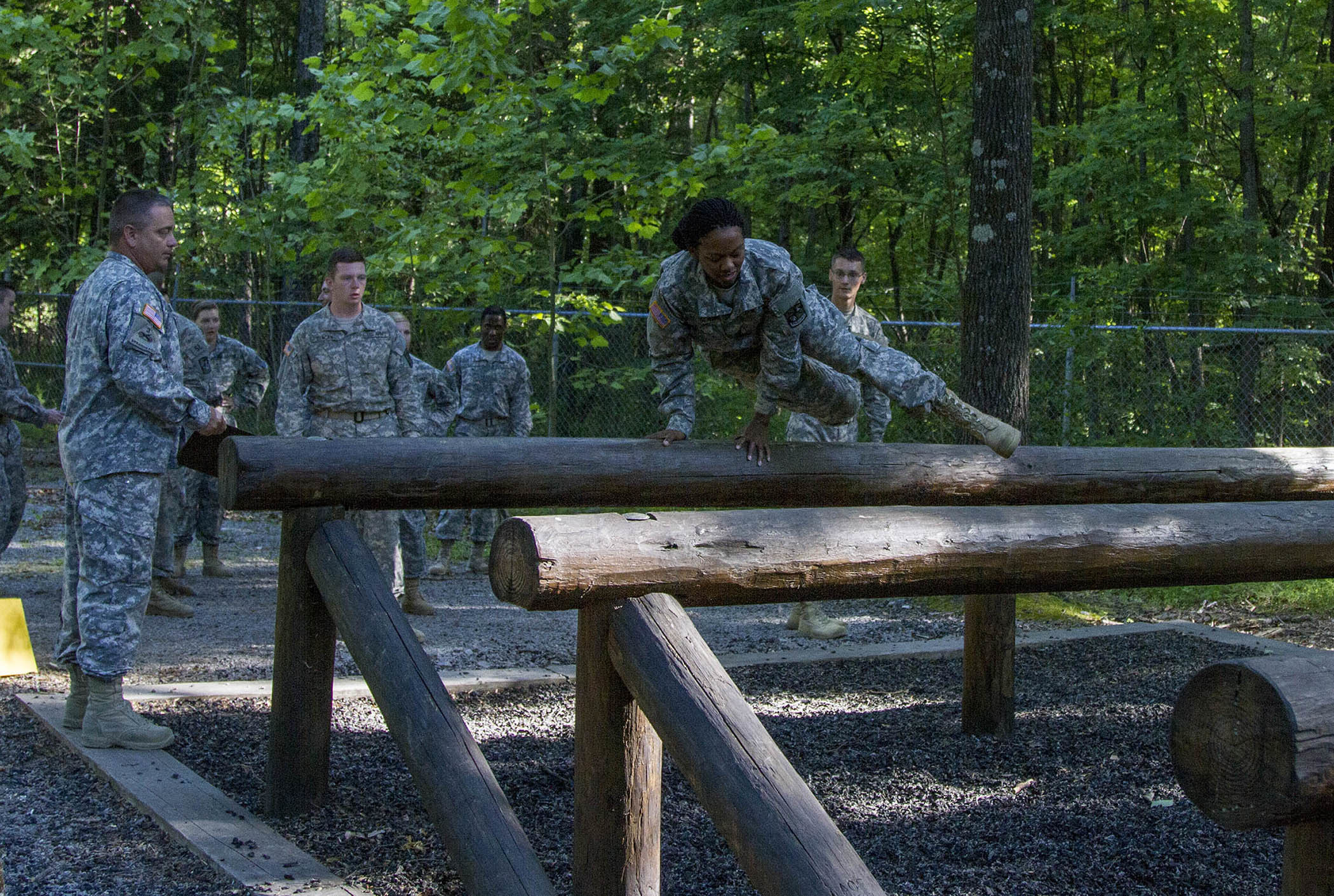 Task Force Wolf supports future leaders in FT Knox Cadet
