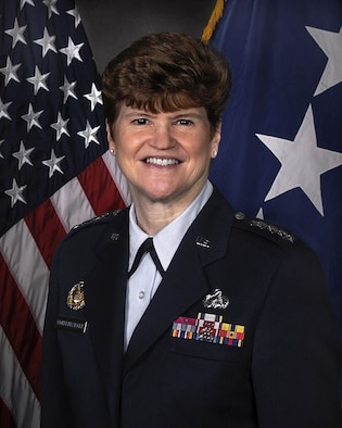 While active duty, Gen. Janet C. Wolfenbarger served as commander of Air Force Materiel Command at Wright-Patterson Air Force Base, Ohio. Wolfenbarger became the first woman to achieve four-star general rank in the Air Force. She retired from military service in 2015 and has been named as the new chairperson of the Defense Advisory Committee on Women in the Services. (U.S. Air Force photo)