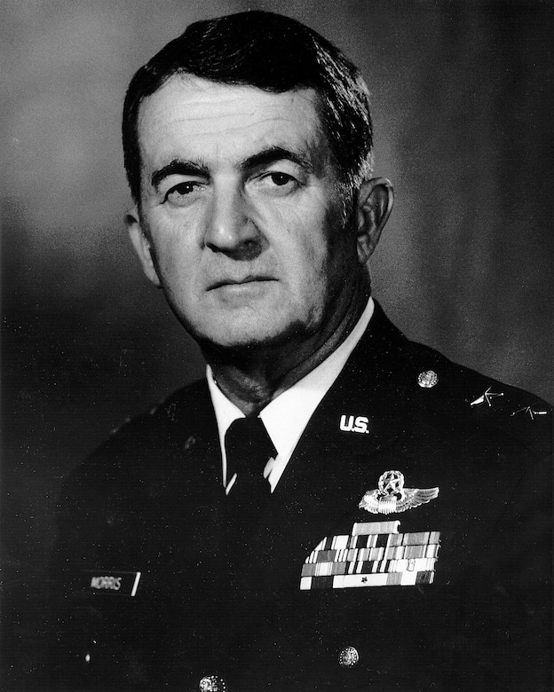 The Arizona Air National Guard's 162nd Wing, owes its modern-day success and mission capability to Retired Air Force Maj. Gen. Donald E. Morris, the unit's first and longest serving commander. Maj. Gen. Donald E. Morris, July 30, 1923 – June 7, 2016. (U.S. Air National Guard photo)