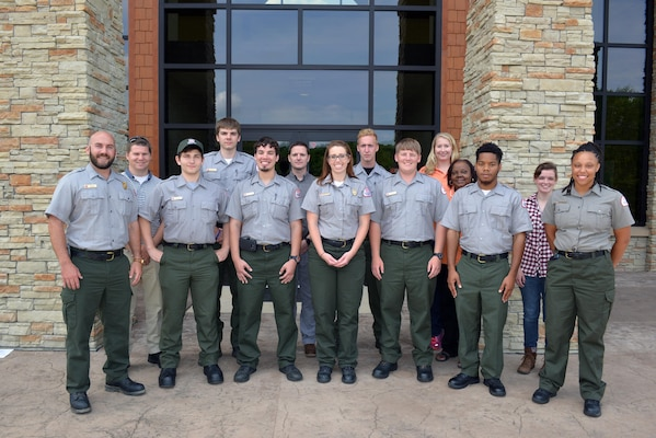 A group of U.S. Army Corps of Engineers Nashville District park rangers attended a water safety refresher class for new, summer hire and permanent rangers from Cordell Hull, Center Hill, Old Hickory, Cheatham, Lake Cumberland, Laurel, and J. Percy  lakes at the Cordell Hull Dam resource managers office Jun. 3, 2016.