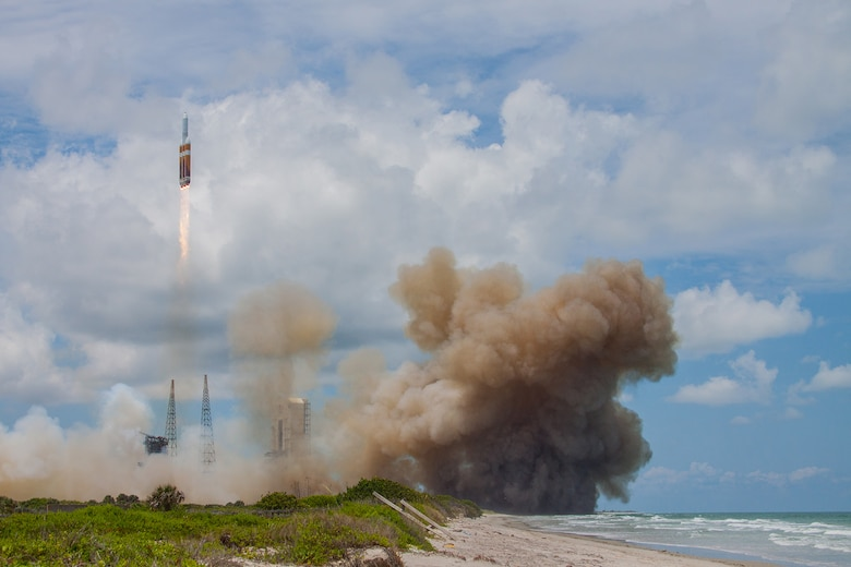 NROL-37 launches aboard a Delta IV Heavy from Cape Canaveral Air Force Station, June 11.