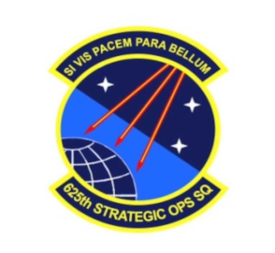 625th Stratgic Ops patch
